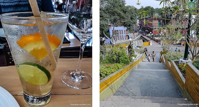 Lima: chilcano, drinque típico limenho, e o distrito de Barranco
