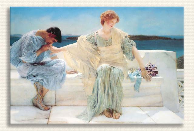 Sir Lawrence Alma Tadema Bana Daha Fazla Soru Sorma