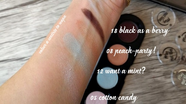 Swatches & Review - Essence my must haves Eyeshadow - sombra de ojos