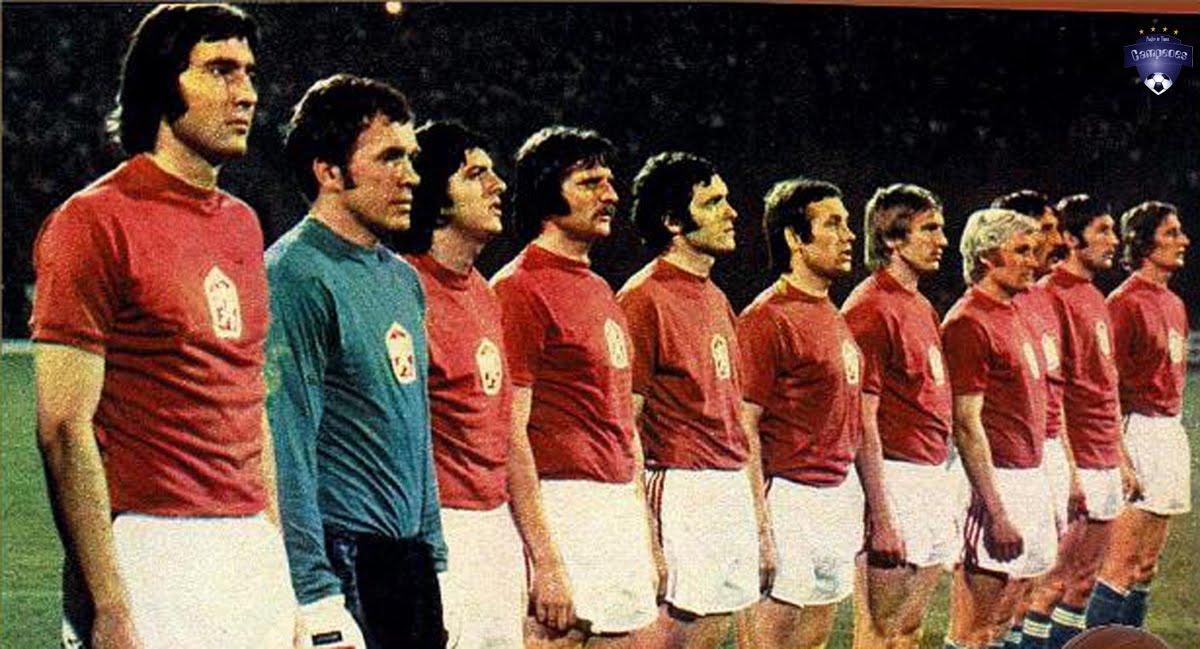 Times Campeões: Tchecoslováquia Campeã da Europa 1976