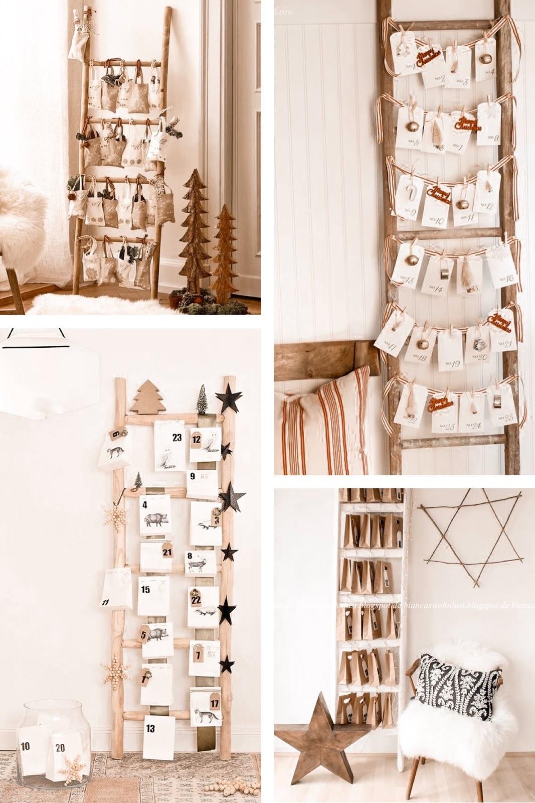 Ideas DIY calendario adviento - Navidad