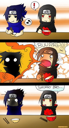 Itachi Funny Comics Strip Anime Jokes Collection