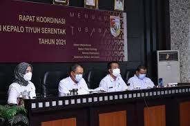 Sekda Tubaba Hari Ini Buka Rakor Tentang Tahapan Pilkati Serentak