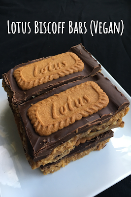 Lotus Biscoff Bars (Vegan)
