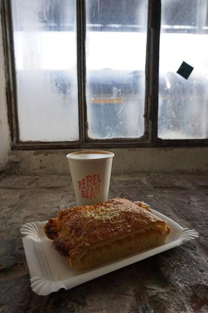 Cappuccino a závin na FoodParku