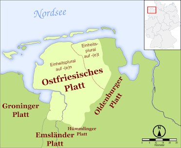 Ostfriesisch Niederdeutsch - Platt