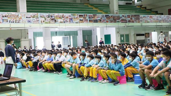 慈濟志工反毒團隊深入校園 員林國小反毒宣導拒毒害