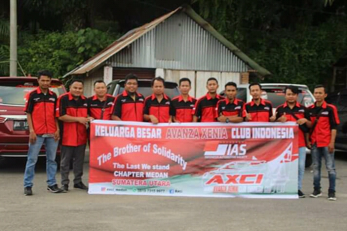 AXCI Chapter Medan mini Touring n Family Gathering Bukit Lawang 09 desember 2018