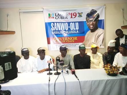 TINUBU SHUNS AMBODE: Sanwo-Olu Begins Campaign In Lagos