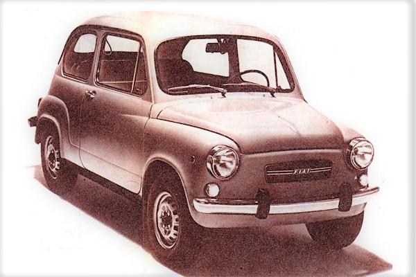 Ficha Técnica: Fiat 600 S (850) (1980)