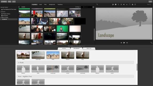 Apple iMovie - aplikasi edit video untuk youtuber pemula