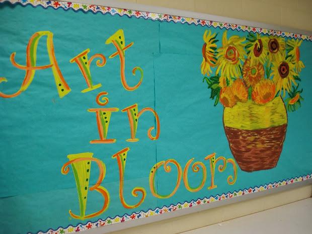 Spring Art Ideas for Bulletin Boards