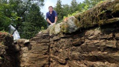 Dig at Fort George