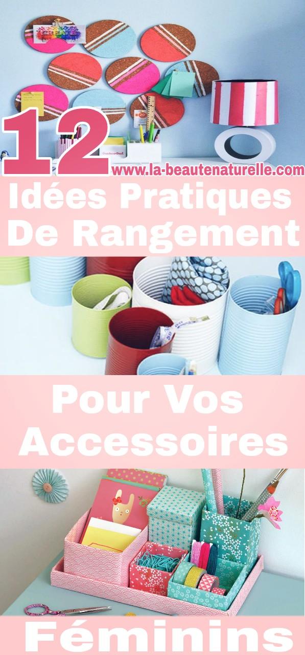 12 idées pratiques de rangement pour vos accessoires féminins