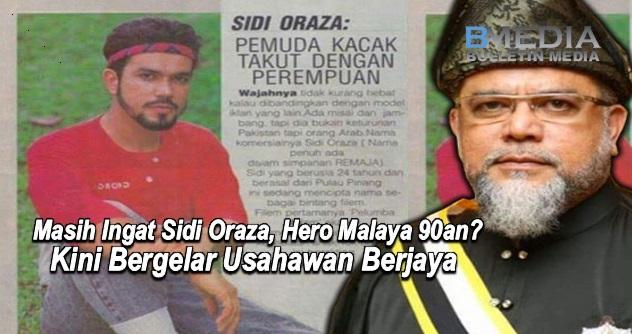 Masih Ingat Sidi Oraza, Hero Malaya 90an? Kini Bergelar Usahawan Berjaya