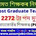 DSE Assam Teacher Recruitment 2021 : Apply Online for 2272 Post Graduate Teacher Vacancy
