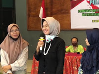 Dr. Tantri Motivasi Pengrajin Batik Kabupaten; Tetap Produksi Dimasa Pandemi