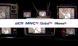Siarkan Iklan Partai Perindo, KPI Jatuhkan Sanksi Televisi MNC Group