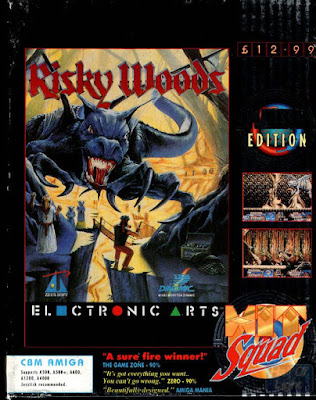 RISKY WOODS (COMMODORE AMIGA)