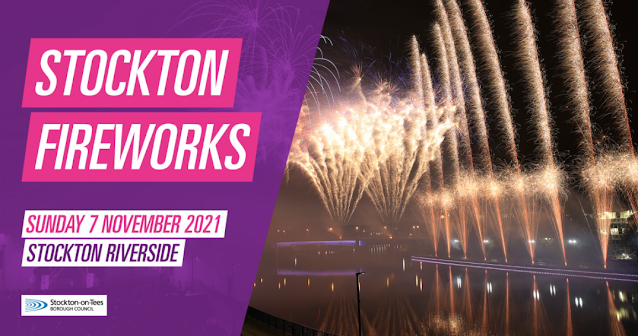 Where to Watch a Fireworks Display in North East England (2021) - Stockton Fireworks 2021