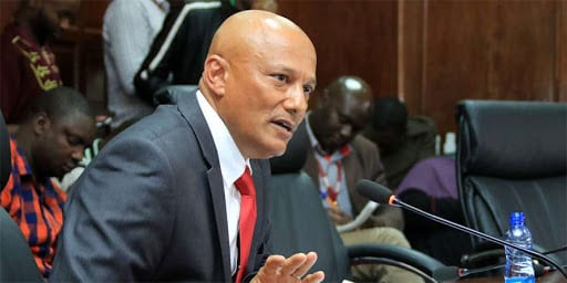 Ethics and Anti-Corruption Commission boss Twalib Mbarak  photos and video
