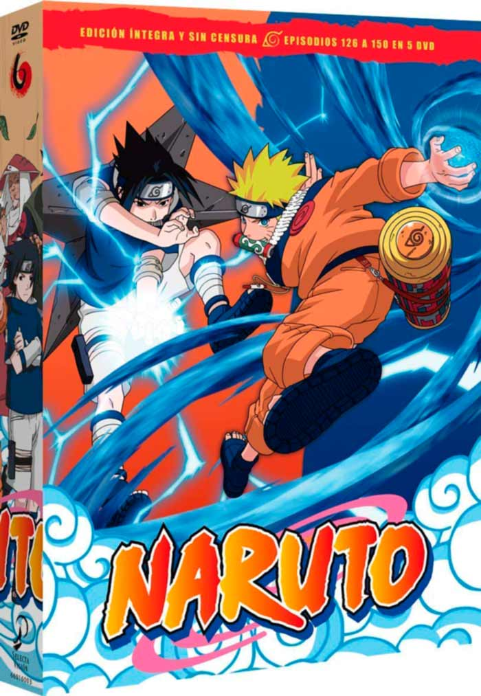 Naruto Box 6 DVD