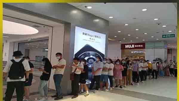 الاقبال الكبير على الهاتف Honor Magic3 Pro في الصين