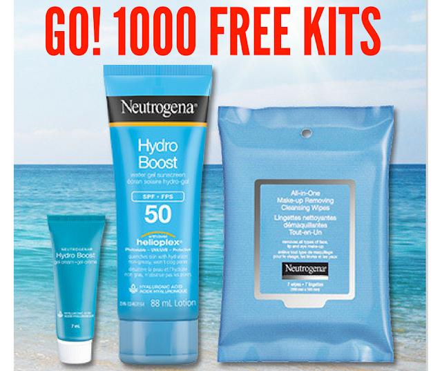 1000 Product Testers Needed -Neutrogena® Hydro Boost Water Gel Sunscreen SPF 50