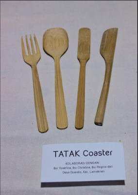 alat makan dari bambu