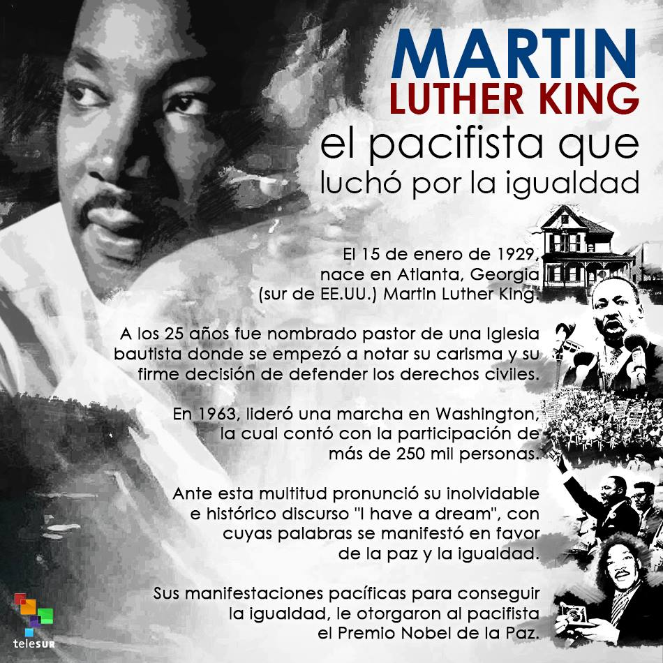Tag Martin Luther King Discurso Yo Tengo Un Sueno Analisis