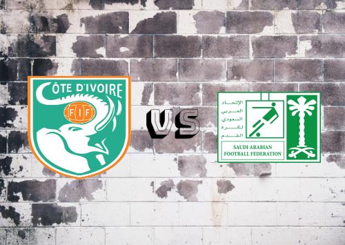 Côte d'Ivoire vs Saudi Arabia Resumen