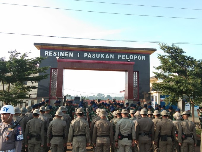 Resimen 1 Paspelopor Korbrimob, Penerimaan Tradisi Perwira Remaja Akpol 2019