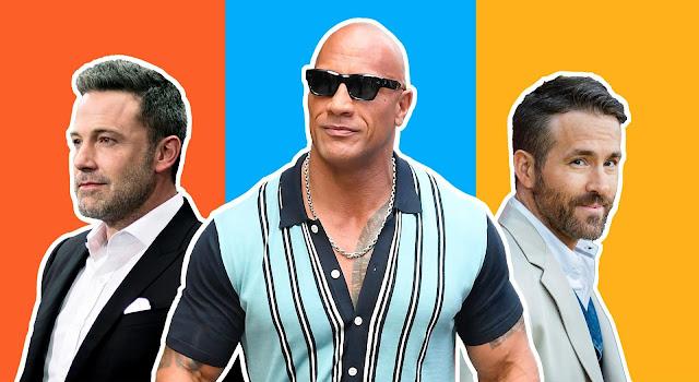 10 Pelakon Dengan Bayaran Paling Tinggi Tahun 2020