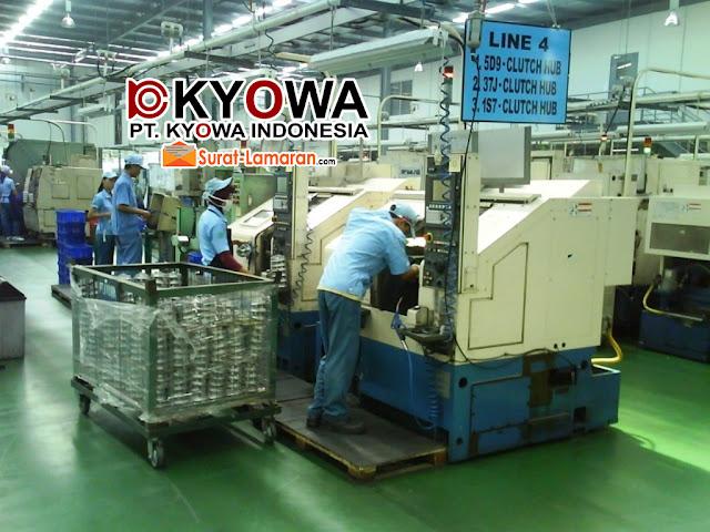Operator Produksi PT Kyowa Indonesia Terbaru 2018