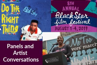 BlackStar Film Festival Panel Spike Lee and Tarana Burke #Metoo