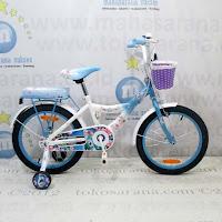 Sepeda Anak Wimcycle Frozen CTB 18 Inci Lisensi