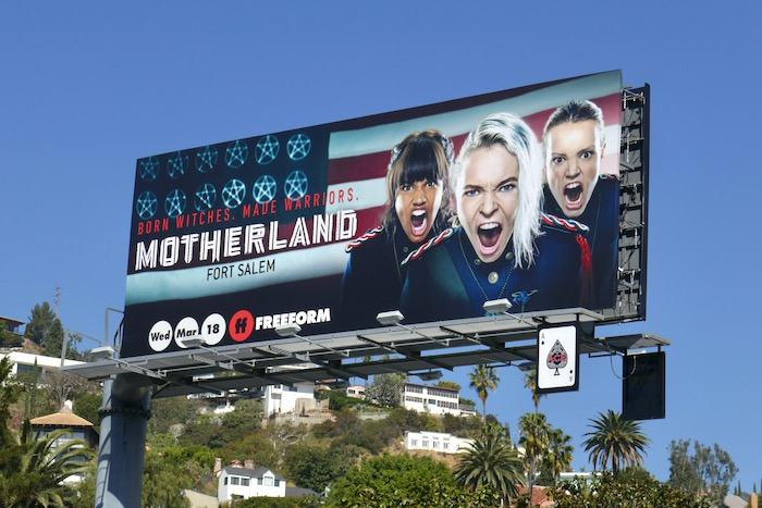 Motherland Fort Salem series billboard