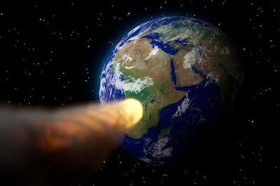 Tahukah anda pagi tadi ada Asteroid Raksasa melintasi bumi.