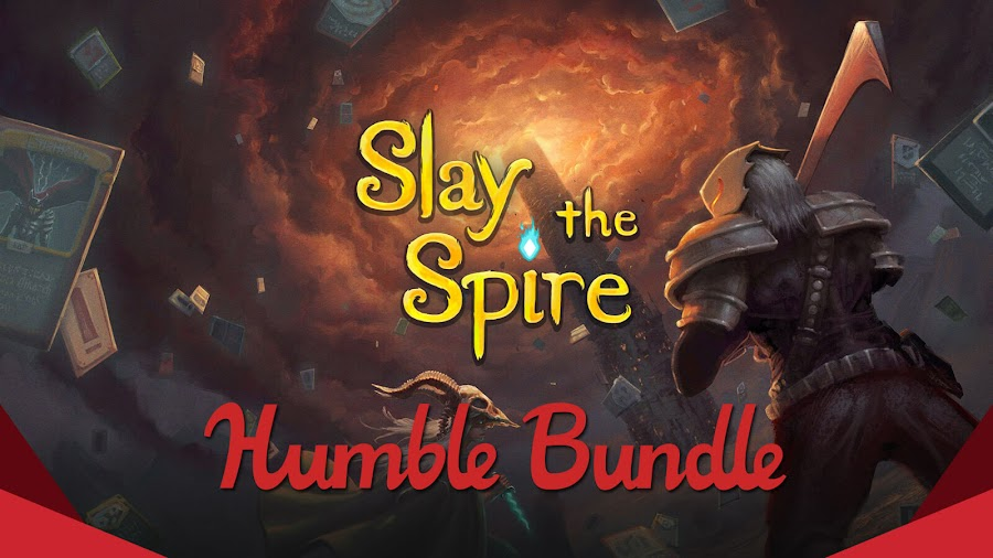 slay the spire sale pc humble monthly bundle mega crit indie roguelike