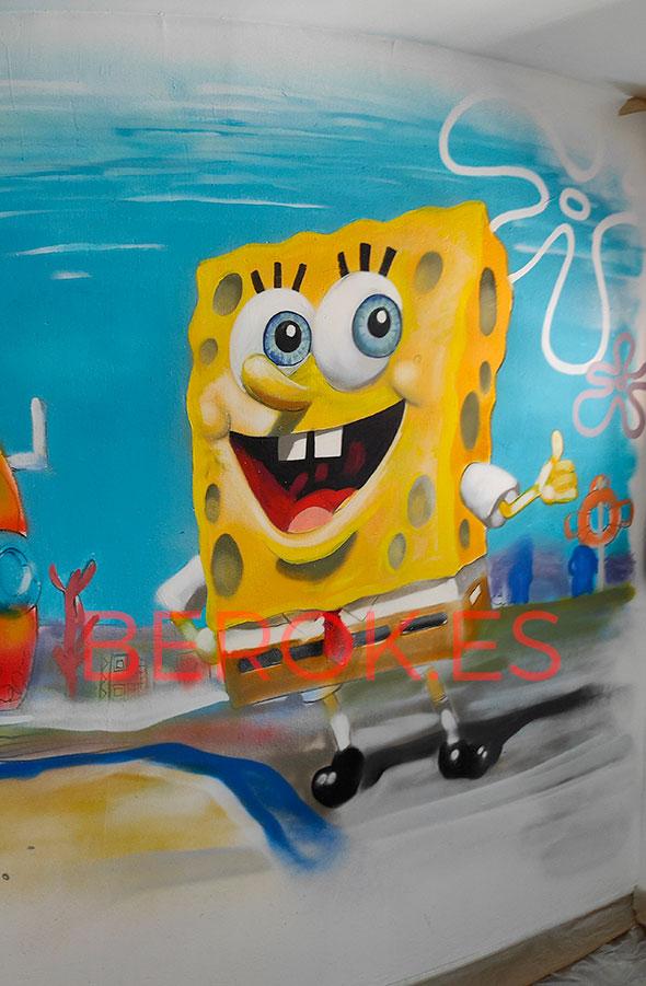 Graffiti Bob Esponja