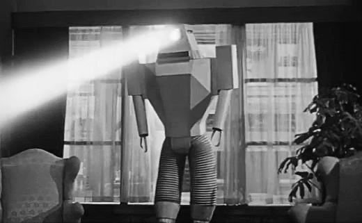 Killer robot from Target Earth, 1954