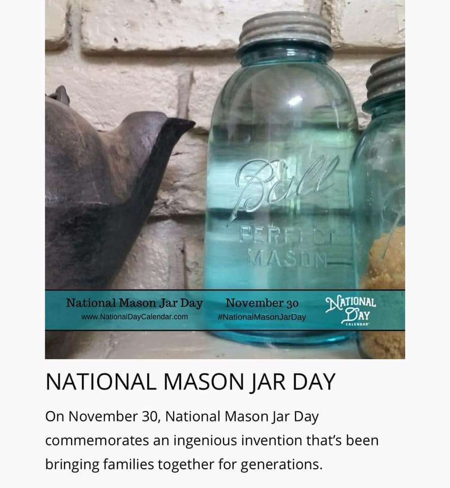 National Mason Jar Day Wishes Unique Image