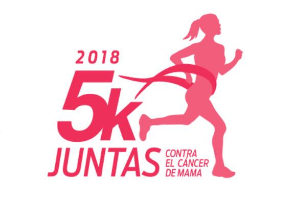 5k Juntas contra el cáncer de mama (Canteras del parque Rodó - Montevideo, 21/abr/2018)
