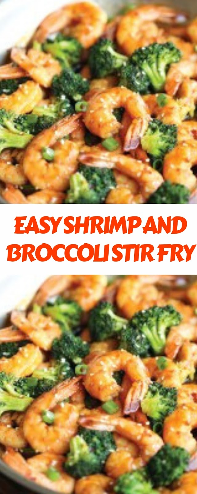 EASY SHRIMP AND BROCCOLI STIR FRY