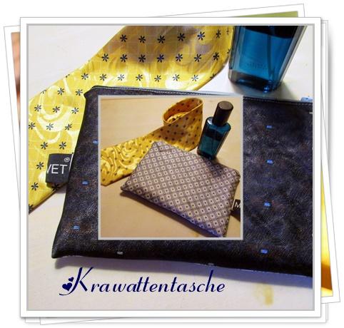 Ulrikes Smaating Upcycling Eine Tasche Aus Krawatten