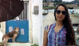 Ο σκύλος της 29χρονης Αγγελικής την περιμένει στην πόρτα, μέσα στο κρύο, κάτω από βροχή (video)