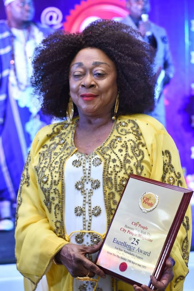 GLITZ & GLAMOUR AT CITY PEOPLE'S AN EVENING WITH OUR MATRIARCHS IN LAGOS