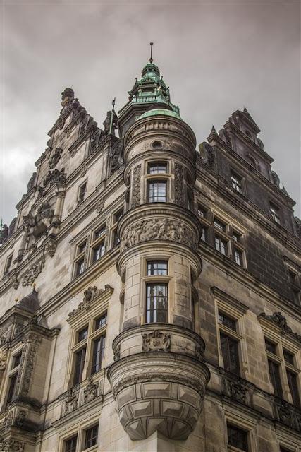 baroque building dresden saxony
