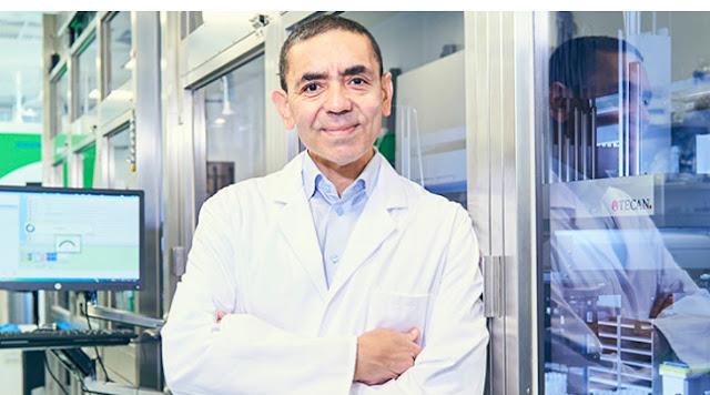 """الدكتور أوغور شاهين ، المدير العام لشركة BioNTech """"لقاحنا يمكن أن ينهي الوباء"""""""
