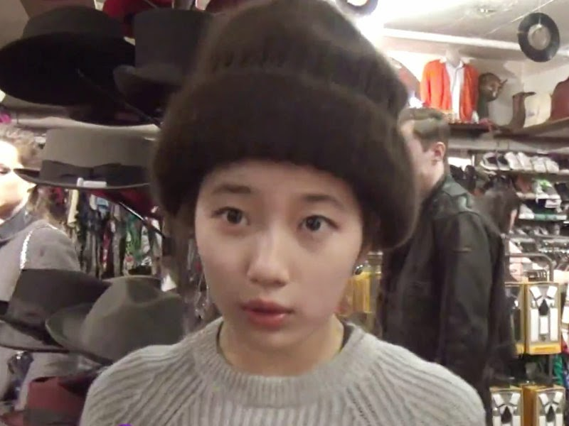 Suzy miss A hats